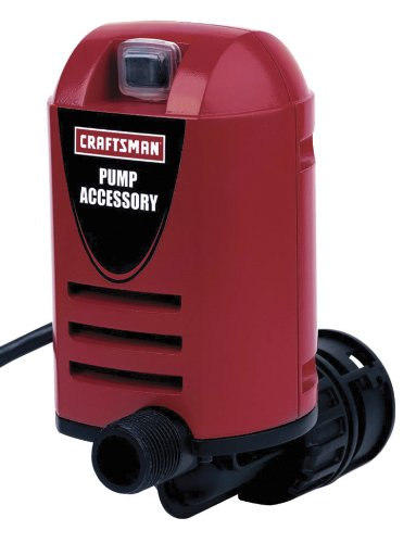 Craftsman 9-16952 Pump Out Wet and Dry Vacuum Pump (Wet Vacuum Pump)