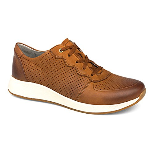 Lace Burnished Nubuck Dansko up Women's Saddle Shoes Christina YqEn0axwg