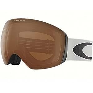 Oakley Flight Deck Ski Goggles, Light Grey/ Black Irid