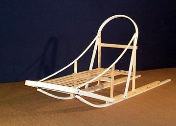 Seeley Slider Wooden Dog Sled Wood Kicksled by Affordable