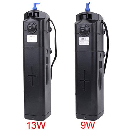 Sunsun 9w 13w uv sterilizer w submersible pump filter 150 for Uv sterilizer for fish tank