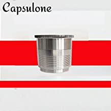 CAPSULONE stainless steel refillable capsule compatible with illy coffee maker machine use 10 years