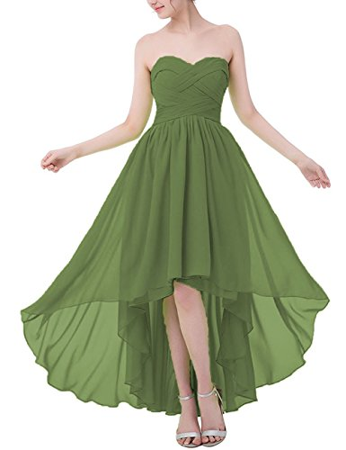 high low bridesmaid dresses canada - 4