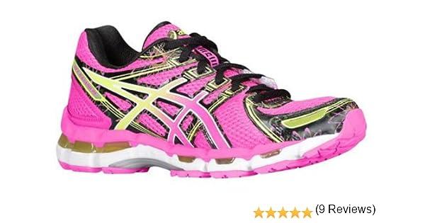 Asics Gel-Kayano 19 Mujer Rosa Deportivas Zapatos Talla Nuevo EU 39,5: Amazon.es: Zapatos y complementos