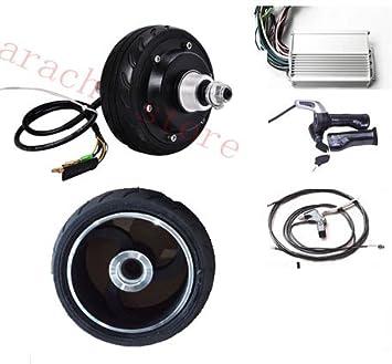 5 pulgadas 250 W 48 V freno eléctrico de sujeción Roller piezas Cepillo eléctrico monopatín Kit eléctrico Buje Motor para silla: Amazon.es: Deportes y aire ...