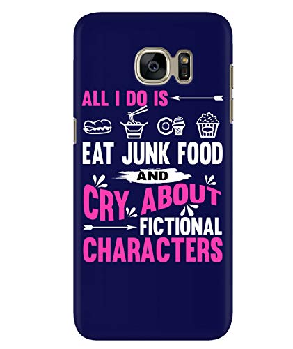 Design for Samsung Galaxy S7 Case, Fictional Characters Samsung Case, Characters Galaxy S7 Case (Samsung Galaxy S7 Case - Navy)