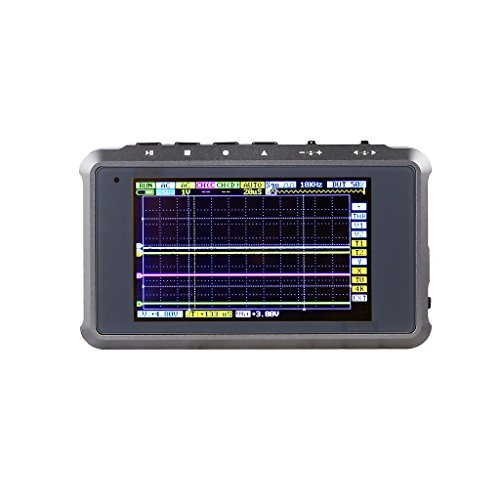 [New Color] SAINSMART DSO203 Digital Storage Oscilloscope Portable Mini Nano Pocket-sized Handheld Titanium Color by SAINSMART
