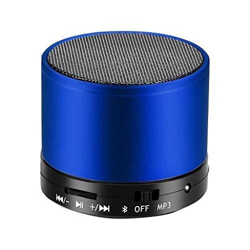 Hancoc Blue Oplaadbare Draadloze Bluetooth-luidspreker Draagbare Mini Subwoofer Speaker Red Card MP3-speler Cannon…