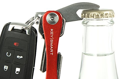 KeySmart Compact Key Holder Add-on Accessory - Stainless Steel Bottle Opener (Bottle Opener Tip)