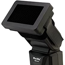 Phottix Honeycomb Grid & Gels for Hot Shoe Flashes (PH35396)