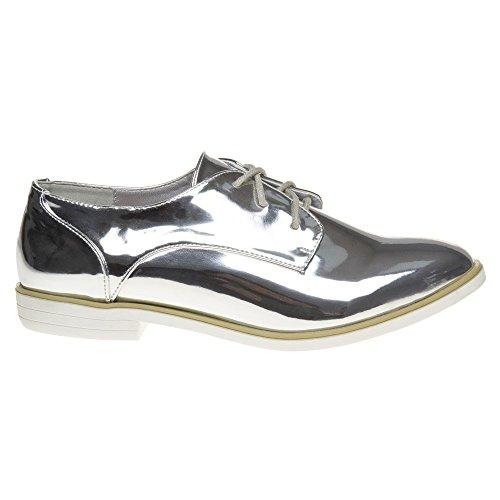Dolcis KIA Damen Schuhe Metallisch Metallisch