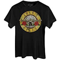 Camiseta Guns N' Roses Bullet Oficial Masculina