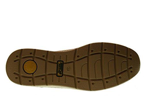 ENVAL SOFT Scarpe da Donna Linea Comoda Mocassini in Camoscio Col. Visone Zeppa cm. 3, NUM.40