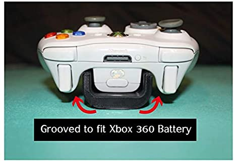 3M Command Strip Microsoft, Black, 4 3d Lasers Lab Xbox 360 Controller Wall Mount//Display Easy Install Damage-Free kit