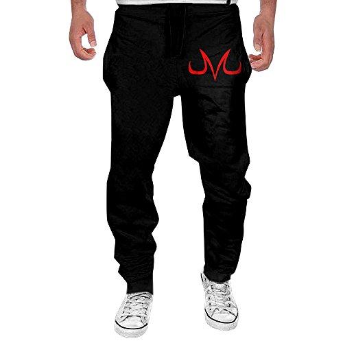 OL-Pant Men's Dragon Ball Z Majin Vegeta Running Pants Size L