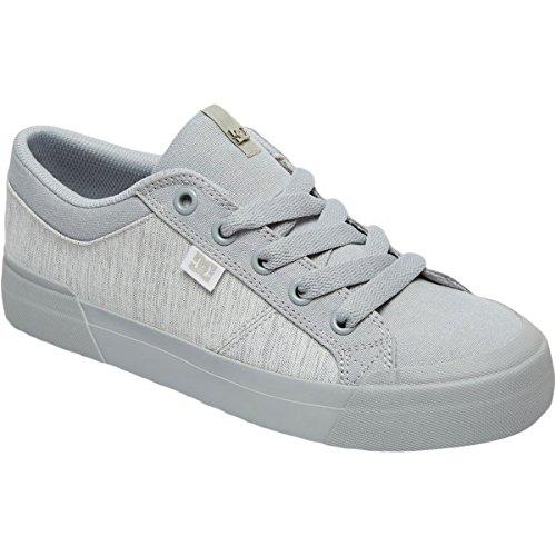 DC Frauen Danni TX SE Skate Schuh Grau / Grau / Grau