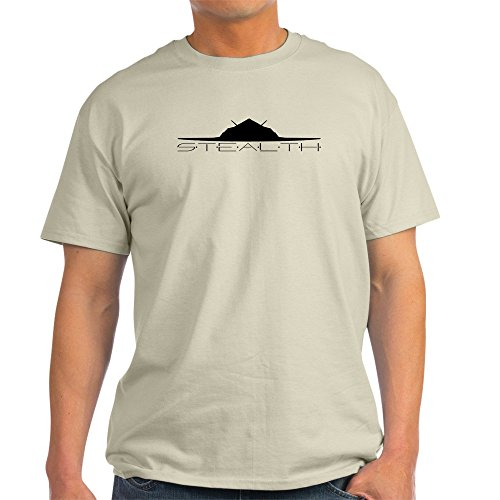 CafePress Black Stealth Aircraft T-Shirt - 100% Cotton T-Shirt
