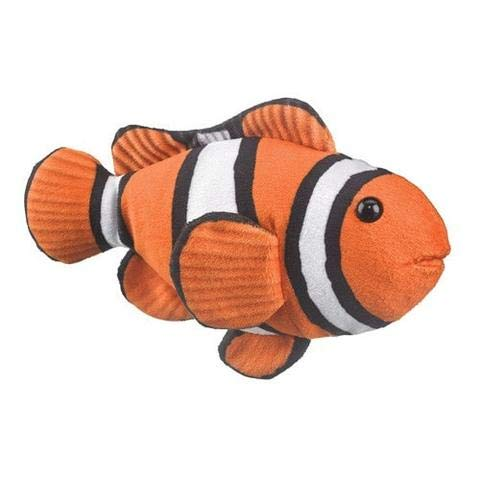 (Wildlife Artists Clownfish Plush Toy Conservation Critters)