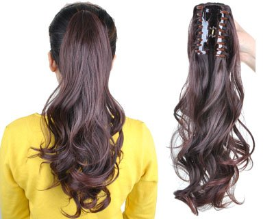 The luxurious wrap ponytails are made from the best and highest quality remy hair. They are full all the way to the ends and measure 20