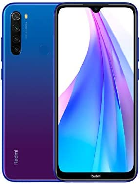Xiaomi Redmi Note 8T 64+4GB Color Azul, NFC, Bateria 4000mAh ...