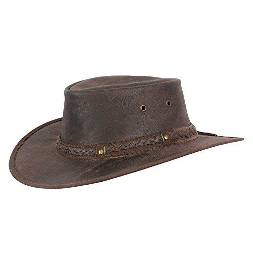 Kangaroo Crossing - Brown (Conner Leather)