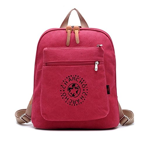 JOYSKY HB440073C5 2016 Canvas College Wind Women's Handbag,Vertical Section Square (Kathy Van Zeeland Back Zip Satchel)