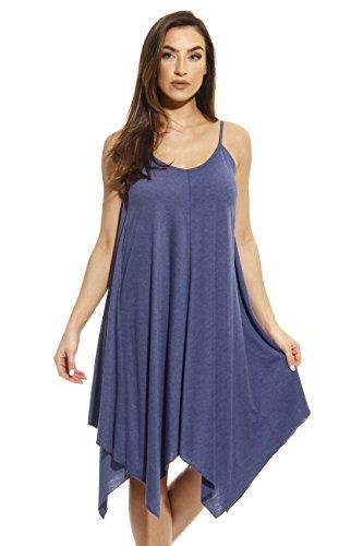 Just Love 401118-DNM-M Summer Dresses/Handkerchief Dress (Jersey Sundress)
