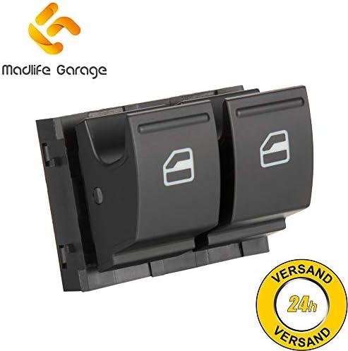 Madlife Garage 1k3959857a Fensterheber Schaltelement Fensterheberschaltelement Schalter Vorne Links Golf Plus Golf V Auto