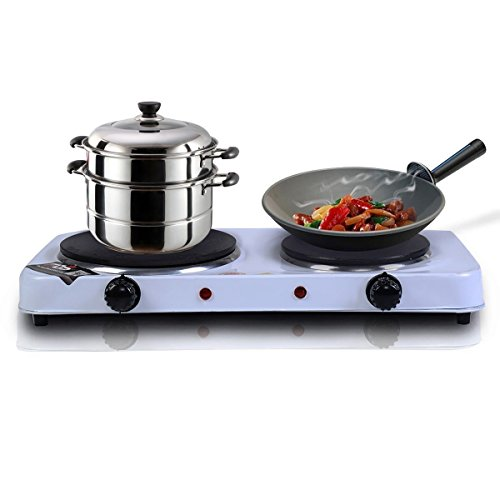 Countertop Cooking Appliances ~ Giantex electric double burner hot plate portable stove