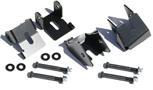 Rock Hard 4x4 BOLT-ON FRONT AND REAR LOWER CONTROL ARM SKID PLATES FOR JEEP WRANGLER JL 2018 - CURRENT (Front Arm Plate)