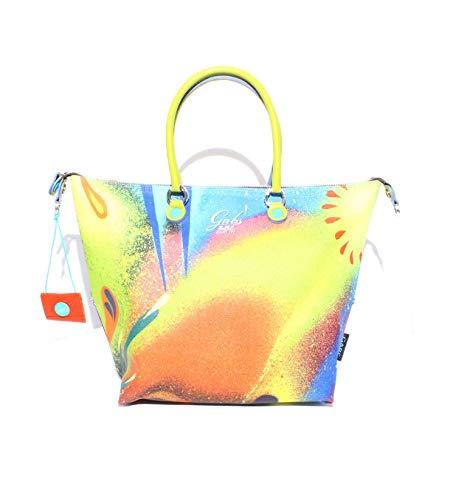x0476 G000033t3 Shopper Donna Gabs Giallo Uc4AqwBpFp