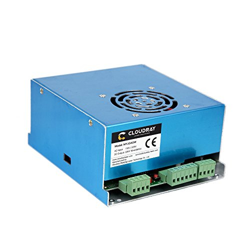 Cloudray 40W PSU Laser Power Supply 110V/220V for CO2 Laser Engraver Cutter MYJG 40W (220 Laser)