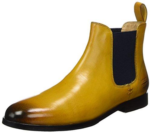 Melvin & Hamilton WoMen Susan 10/R Chelsea Boots Yellow (Yellow)