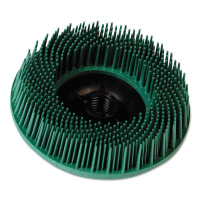 3M 048011-27605 6X12 Radial Bristle Brsh 50 Grit, Sold As 1 Each