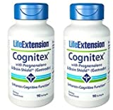 Life Extension - Cognitex with Pregnenolone and Brain Shield, 90 Softgels(Pack of 2)