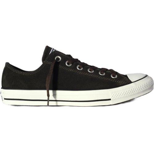 Converse All Star OX - Zapatillas de deporte de lona, unisex Negro (Beluga)