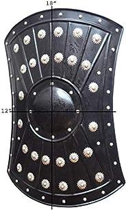 "Medieval Barbarian Armor Templar Viking 18"" Iron Shiel"