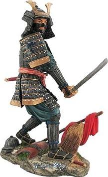 Samurai Akira Resin Figurine
