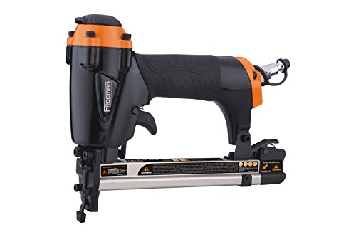 Freeman PFWS Professional Fine Wire Stapler 20 Gauge Ergonomic & Lightweight Pneumatic Nail Gun with Depth Adjust & No-Mar Tip for Screens