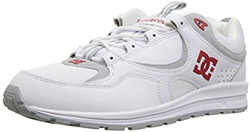 Dc Kalis Shoes - DC Shoes Men's Kalis Lite Shoes White/Red 10.5 & Cooling Towel Bundle