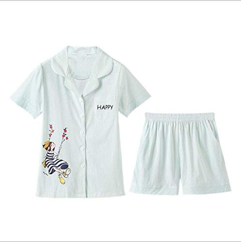 Solo Animal Ropa Pijama Taille Verano Juegos Pecho Manga 2 Boxershort Colour Un De Cartoon Solapa Corta Mujer Camisas Pijamas Elastische TtZqUWnqB
