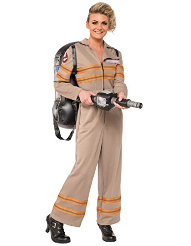 Deluxe Ghostbusters Costume (Rubie's Womens Deluxe Ghostbusters Jumpsuit, Multi-colored,)