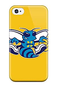 Hard Plastic Iphone 4/4s Case Back Cover,hot New Orleans Hornets Case At Perfect Diy