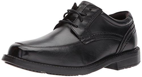 Toe 2 Style Oxford Leader Men's Rockport Black Apron tCR7qzgnx