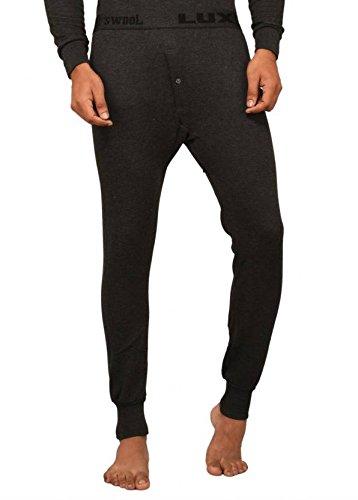 Lux Cottswool Black Thermal Men #39;s Pyjama Size 85