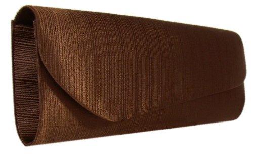 DIVA-MODE - Cartera de mano para mujer negro negro marrón - marrón
