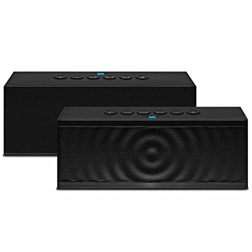 Bluetooth Speaker, Liger® Portable Wireless Bluetooth Speaker with Built in Speakerphone 8 hour Rechargeable Battery - For Apple iPhone 6 , 6 Plus , iPhone 5/5S/5C, iPad, iPad Air, iPad - Stereo S5 Galaxy Home Speakers
