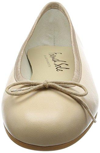 French Sole Henrietta Lether - Bailarinas Mujer Beige
