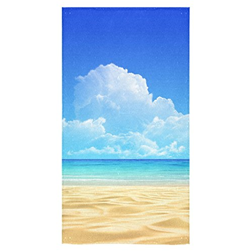 ADEDIY Fashion Custom Towel Summer Beach Sandy Boundless Sea