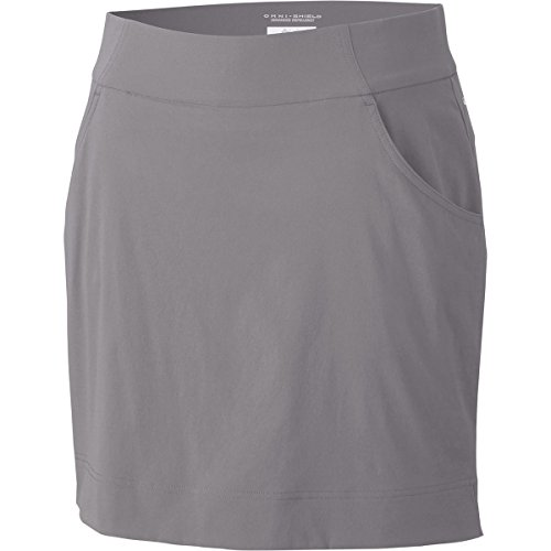 Skort Lady Number - Columbia Women's Anytime Casual Straight Skort, Light Grey, M